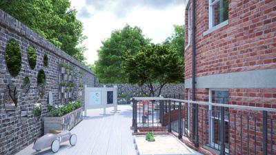 Hove Library Nursery Garden - Hove Village