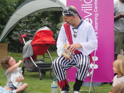 Hove Village Sponsoring Wishfest Pirate